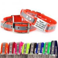 Buy cheap Reflective ScruffTag Personalized Dog Collars from wholesalers
