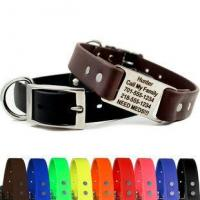 China Waterproof Soft Grip ScruffTag Personalized Dog Collars wholesale