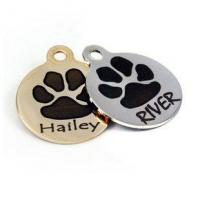 Buy cheap dogIDs Signature Paw Print Dog ID Tags from wholesalers