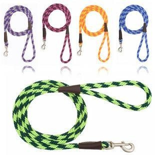 China Mendota Diamond Series Braided Snap Leash