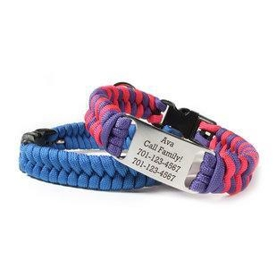 China Personalized Fishtail Paracord Dog Collar DIY Kit