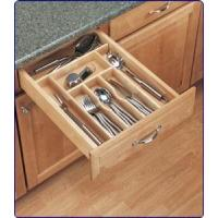 China Wood cutlery tray insert on sale