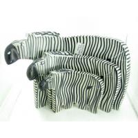 Soapstone Homeware & Gifts abstract zebras (SS043)