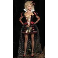 China Deluxe Womens Sexy Queen Halloween Costume,T10008 on sale