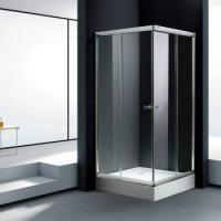 Wholesale Square shower enclosure with tray from china suppliers
