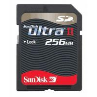 China Mini SD Cards Sandisk 256MB 60X Secure Digital ULTRA II SD Card wholesale