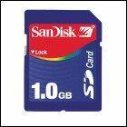 China Secure Digital SD Cards Sandisk 1GB Secure Digital SD Card wholesale
