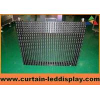 PH31.25mm Indoor Full Color Window Curtain Digital Led Display Screen For Advertising