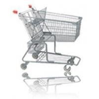 China Retail food store, Supermarket Shopping Cart trolley on wheels American Style on sale