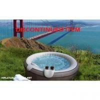 China $500 and above MSPA B-140 Gray Leather Inflatable Hot Tub on sale