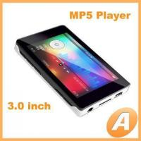 China 3.0 inch TFT MP5 Player with Mp3 / Mp4 Function on sale