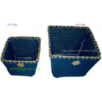 China 【Paper Fabric pot cover/storage(ly15-50,ly15-51)】 wholesale