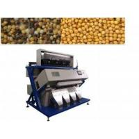 China Yellow Rice 2048 Pixel 50HZ CCD Grain Color Sorter Equipment Air Consumption 600-2000 L / min wholesale