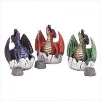 China Dragon and Egg Incense Burners (pack of 6)[33077] wholesale