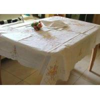 China Vintage Color Embroidery/Cross stitch Table Cloth wholesale