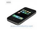 "Quality Dual sim cards dual standby 1.3Mp dual camera JAVA 3.2"" touch screen wifi phone i9 4G for sale"