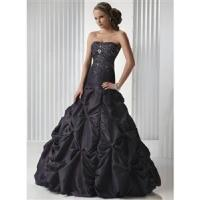 China Discount Black Berry Prom Dress Ball Gown wholesale
