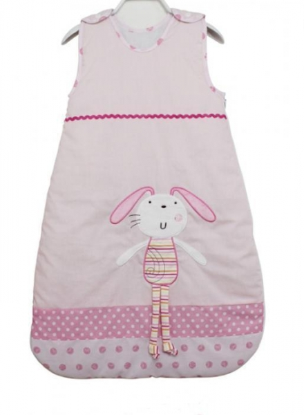 Quality lovely pink design wholesale cotton baby sleeping bag for sale