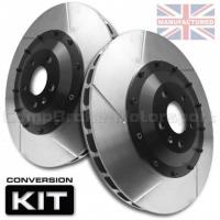 China AUDI RS3/TTRS 370 x 32mm Front 2-Piece Brake Disc Conversion Kit [Bell/Rotor Combo] on sale