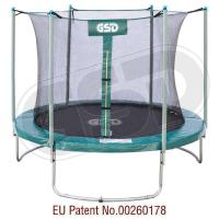 Short pole with inside net