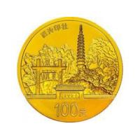 China West Lake 1/4oz Gold + 1/2ozx4 Silver Coin Set wholesale