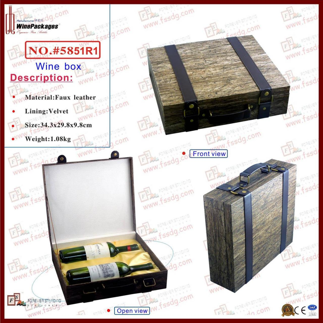 Wholesale Wine box Wine Box Promotion from china suppliers
