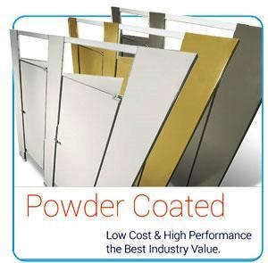 Quality Powder Coated Steel Toilet Partitions for sale