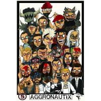 China Aggronautix 5-Year 11 x 17 Print (2014) wholesale