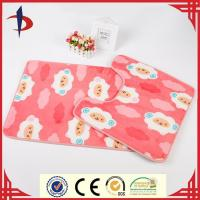 print non slip bathroom mat sets