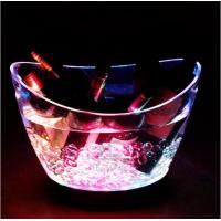 Wholesale plexiglass bucket with light from china suppliers