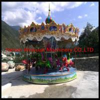 China 12 seats carousel horses carousel horses for sale wholesale