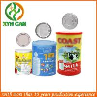 Wholesale Promotional Air Tight Milk Powder Tin Packaging Can from china suppliers