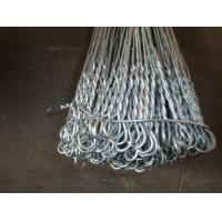 """China Hot-Dipped Galvanized Iron Wire Binding Double Loop Tie Wire 6"""" - 22"""" wholesale"""