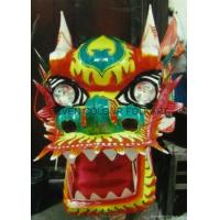 Wholesale Chinese traditional golden red dragon head from china suppliers