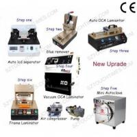 China Latest Full set LCD Screen Refurbish machine for Max 7 inch Mobile phone wholesale