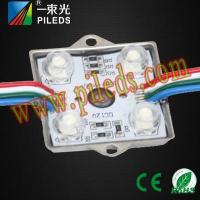 China Four lights 5050 colorful waterproof steel with a lens module wholesale