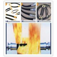 China Hydraulic Hose Antiflaming / Fire-Resistant Rubber Hose wholesale