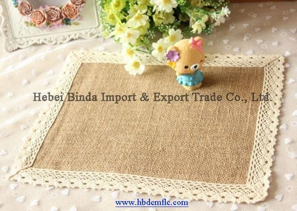China High-Quality Jute Favric for Tablecloth