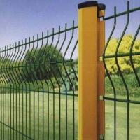China Powder coated welded wire fence wholesale