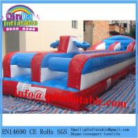 China cheap exciting inflatable bungee run for sale wholesale