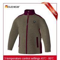 Wholesale Heated Clothing|EHJ005 Grey heated clothing outdoor clothing from china suppliers
