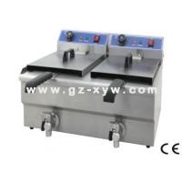 China Electric Fryer with Valve(Double tanks) wholesale