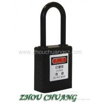 Buy cheap ZC-G11 Black Non-Conductive Safety Padlock ABS Body Steel Shackle from wholesalers