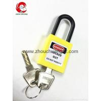 Buy cheap ZC-G11 Yellow security lock and safe, safety padlocks lockout tagout from wholesalers