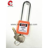 Buy cheap ZC-G21 Compact Xenoy Safety Padlock, Steel Long Shackle, All Colors Available from wholesalers