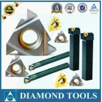 Buy cheap partial profile 60 degree tungsten carbide indexable threading inserts thread turning tool from wholesalers