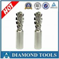 Buy cheap PCD spiral router bits for MDF Z1+1 from wholesalers
