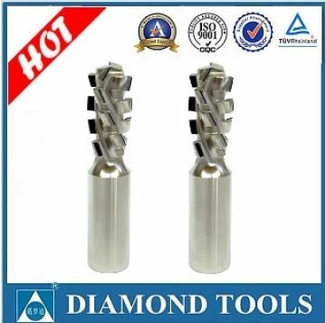 Quality PCD spiral router bits for MDF Z1+1 for sale