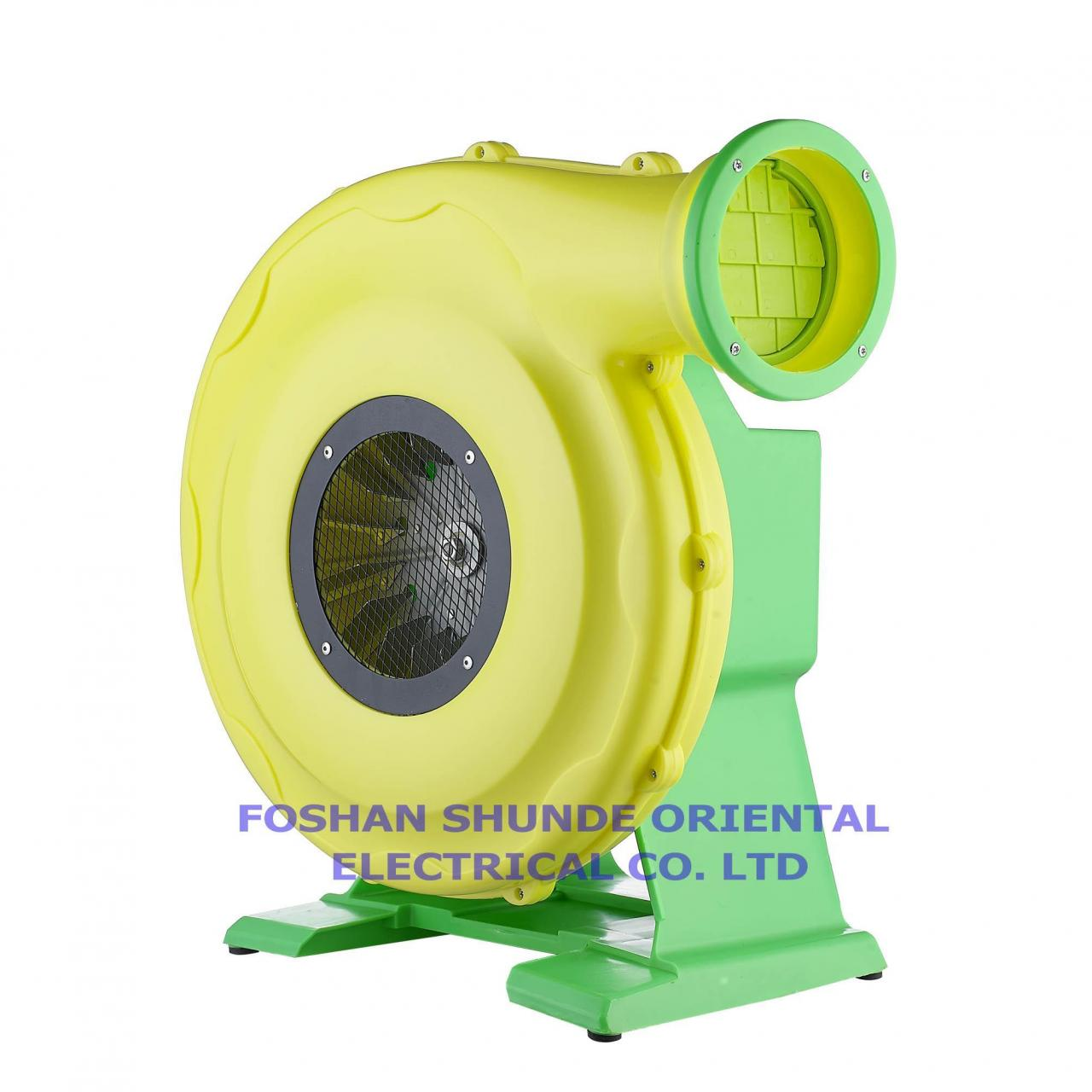 Air blower for big inflatables