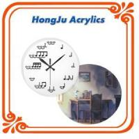 Wholesale modern high grade acrylic clock from china suppliers